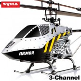 Syma F1 2.4G 3CH ARMOR Helicopter With Gyro White 3-Channel