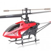 Syma F4 ASSAULT 3-Channel Remote Control Helicopter Red