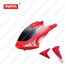 F4-01A-Head-Cover-Red + Tail-decoration-Red