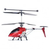 Syma S006G 3CH RC helicopter with GYRO Red