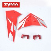 S033G-12-Tail-decorate-blades-Red