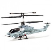 Syma S038G 3CH RC helicopter with GYRO Blue