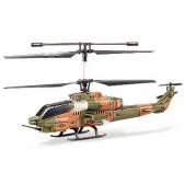Syma S038G 3CH RC helicopter with GYRO Green