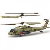 Syma S102S 3CH RC helicopter with GYRO Green
