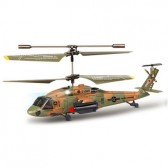 Syma S102S 3CH RC helicopter with GYRO Brown