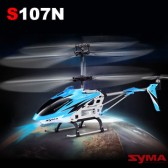 Syma S107N 3CH RC helicopter with GYRO Blue