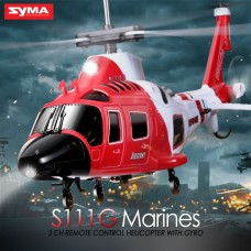 Syma S111G 3CH RC helicopter with GYRO