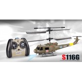 Syma S116G 3CH RC helicopter with GYRO Green