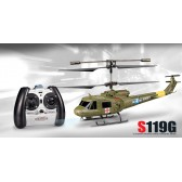 Syma S119G 3CH RC helicopter with GYRO Green