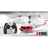 Syma S119G 3CH RC helicopter with GYRO Red
