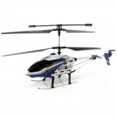 Syma S301G 3CH RC helicopter with GYRO Blue