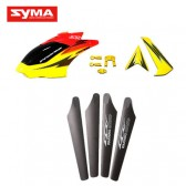 S32-01-Head-cover-Main-blades-Tail-decoration-Yellow