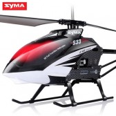 Syma S33 2.4G 3CH Helicopter With Gyro Black