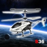 Syma S36 3CH 2.4G Helicopter With Gyro White