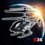 Syma S36 3CH 2.4G Helicopter With Gyro Black
