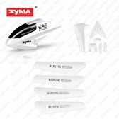 S36-01A-Head-Cover-Main-blades-Tail-decoration-White