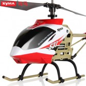 Syma S37 2.4G 3-Channel Remote Control Helicopter Red