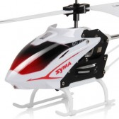Syma S5 3CH Remote Control Helicopter With Gyro White