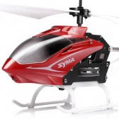 Syma S5 3CH Remote Control Helicopter With Gyro Red
