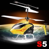Syma S5 3CH Remote Control Helicopter With Gyro Yellow