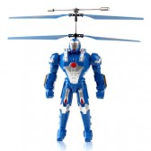 Syma S9 KNIGHT 3D Flying Infrared RC Fly Robot Blue