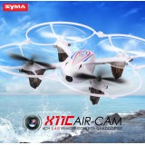 Syma X11C With 2MP HD Camera 2.4G 4CH 6Axis RC Quadcopter Red