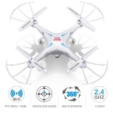 Syma X5SW With Wifi FPV HD Camera 2.4G 4CH 6Axis Headless Mode RC Quadcopter White