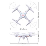 Syma X5SW With Wifi FPV HD Camera 2.4G 4CH 6Axis Headless Mode RC Quadcopter Black