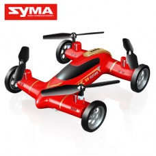 Syma X9 With 2.4G 4CH 6Axis Headless Mode Fly-Car Red